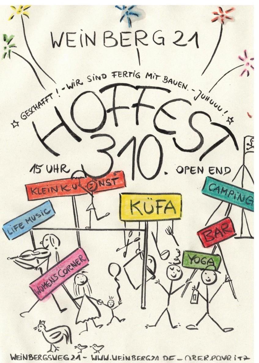 Hoffest am 3. Oktober 2020